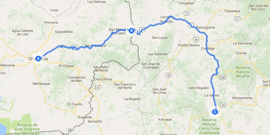 Days 216 217 Honduras to Nicaragua and a pause in Estel Riding
